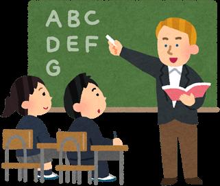 英語の授業は英語で話す