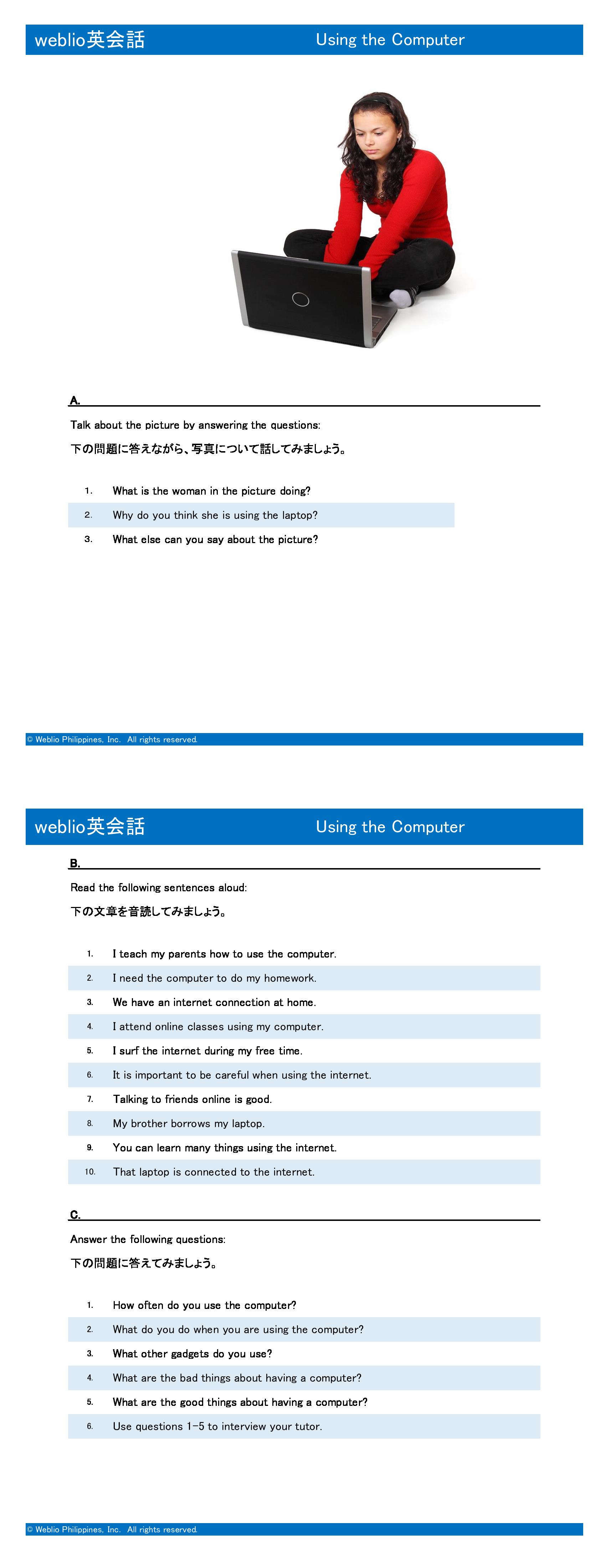 speaking-intermediate-using-the-computer