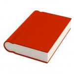realistic 3d render of book