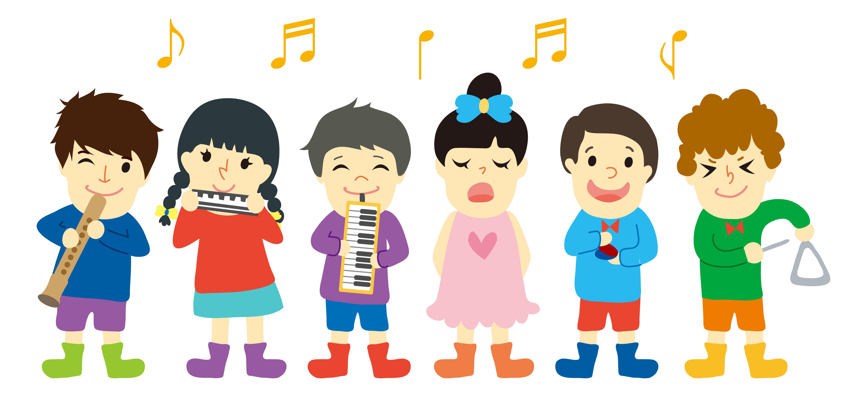kids playing music instrumental and singing