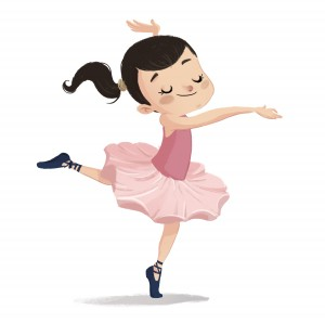 niña bailarina